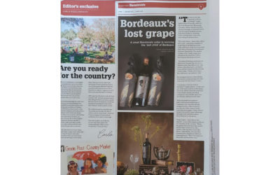 Sunday Times – Bordeaux's Lost Grape